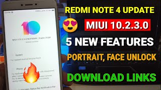 Redmi Note 4 New Stable Update MIUI 10 2 3 0 !! miui 10
