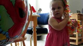 Elmo Sings Happy Birthday To Grace!