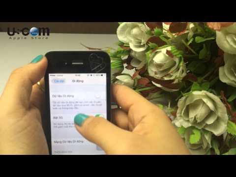 Cách phát wifi bằng iPhone
