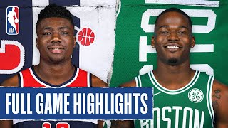 WIZARDS at CELTICS | FULL GAME HIGHLIGHTS | August 13, 2020