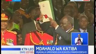 Mdahalo wa Katiba waendelea kuhusu marekebisho