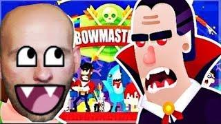 BOWMASTERS #3 Сражаемся друг против друга Боумастер игра про дуэль Видео для детей от AnekVanek GAME
