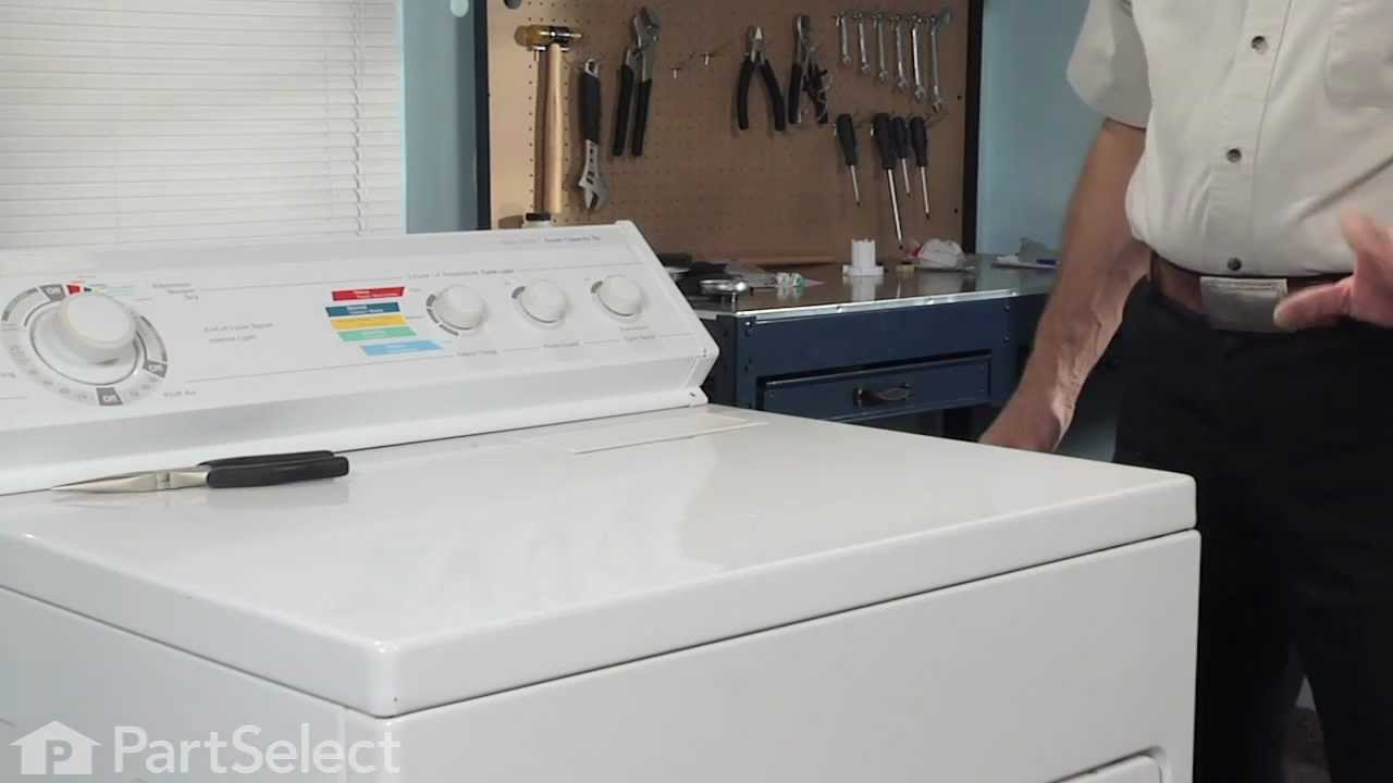 Replacing your Whirlpool Dryer Lint Filter