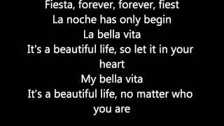 Bella Vita- Dj Antoine (Official Lyrics) HD!