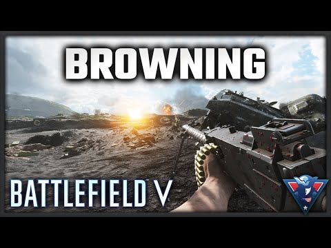 THE M1919A6 BROWNING DESTROYS || Battlefield V - War in the Pacific Gameplay