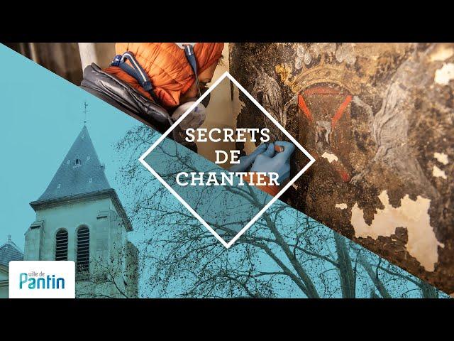 Secrets de chantier : église Saint-Germain, Pantin, 2021