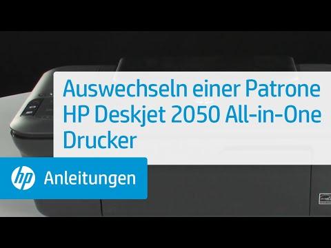 Auswechseln einer Patrone -- HP Deskjet 2050 All-in-One Drucker