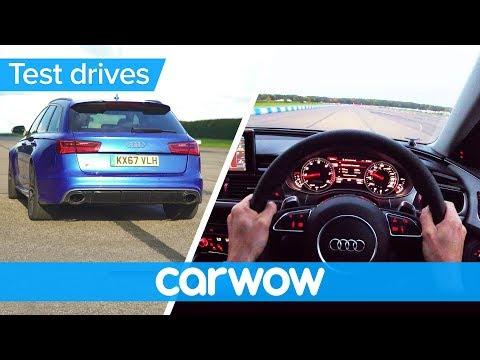Audi RS 6 Avant POV review   Test Drives