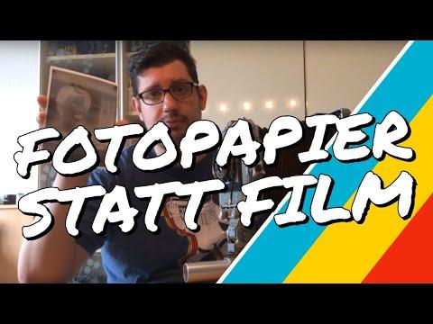 Wie nutzt man Fotopapier statt Film? | Großformat mit Papier-Negativen