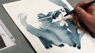 Watercolor Portrait Study - Follow The Value Pattern