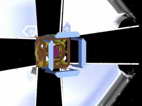 L'Garde Solar Sail Deployment Animation