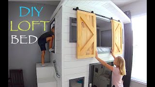 ✅ Bunk Beds // Woodworking How To Custom Build Bunkbeds House Or Loft Bed