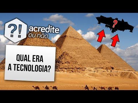 TECNOLOGIA AVANÇADA NAS PIRÂMIDES DO EGITO?