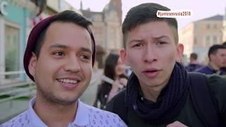 Al ritmo del Ras Tas Tas, los colombianos apoyan a la tricolor en Rusia