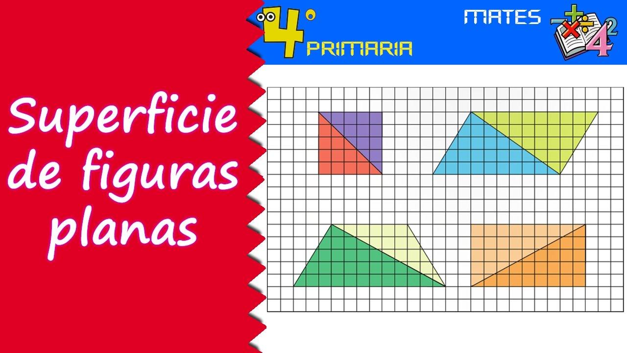 Matemáticas. 4º Primaria. Tema 8. Superficie de las figuras planas