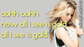 Bridgit Mendler   All I See Is Gold LYRICS Hello my name is    ALBUM