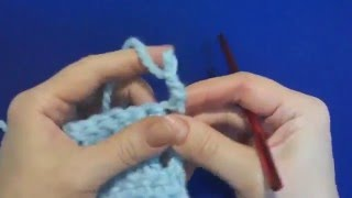 Как вязать ровный край крючком.Урок 11    How to knit a flat edge crochet  Lesson 11