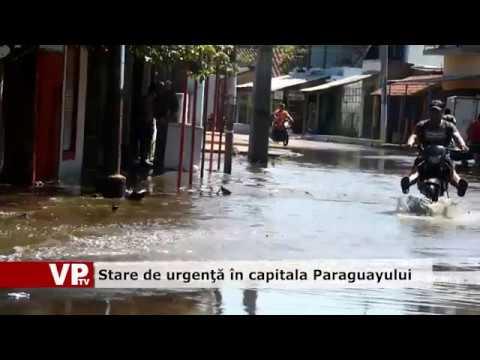 Stare de urgenţă în capitala Paraguayului