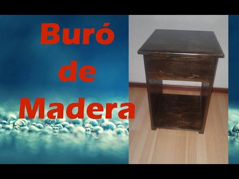 Como hacer un Buró de Madera (#11)   Detalles en Descripción