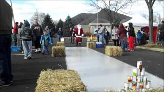 Turkey Bowling Santa at the Holmes County Library