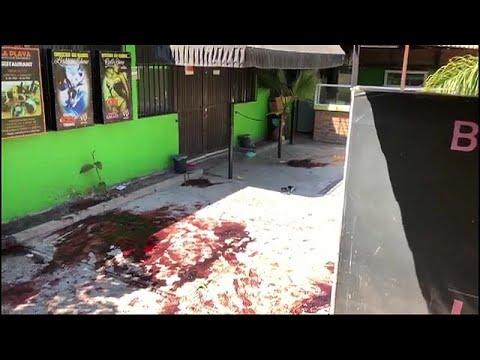 العرب اليوم - شاهد:مقتل 15 شخصًا وإصابة آخرين في إطلاق نار داخل حانة في المكسيك