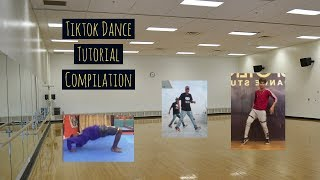 Tiktok Dance Tutorial Compilation, Learn to Dance/ Shuffle Tik Tok  August 2019