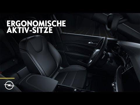 Opel Features: Ergonomische Aktiv-Sitze