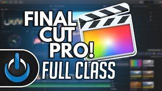 Final Cut Pro X - Full Class With Free PDF Guide 🎬