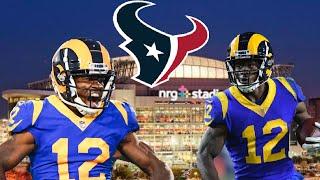 Houston Texans Brandin Cooks Will TAKEOVER!!
