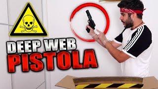 Disparo La Pistola de La Caja Misteriosa de La Dark Web... *ESTO ES LO QUE OCURRE*