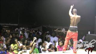 Wally J's Inside The Music - Yung LA In Albany, Ga Futuristic Love & Aint I Remix LIVE