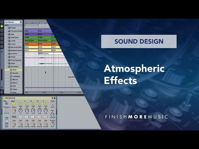Ableton Tutorial - Atmospheric Effects