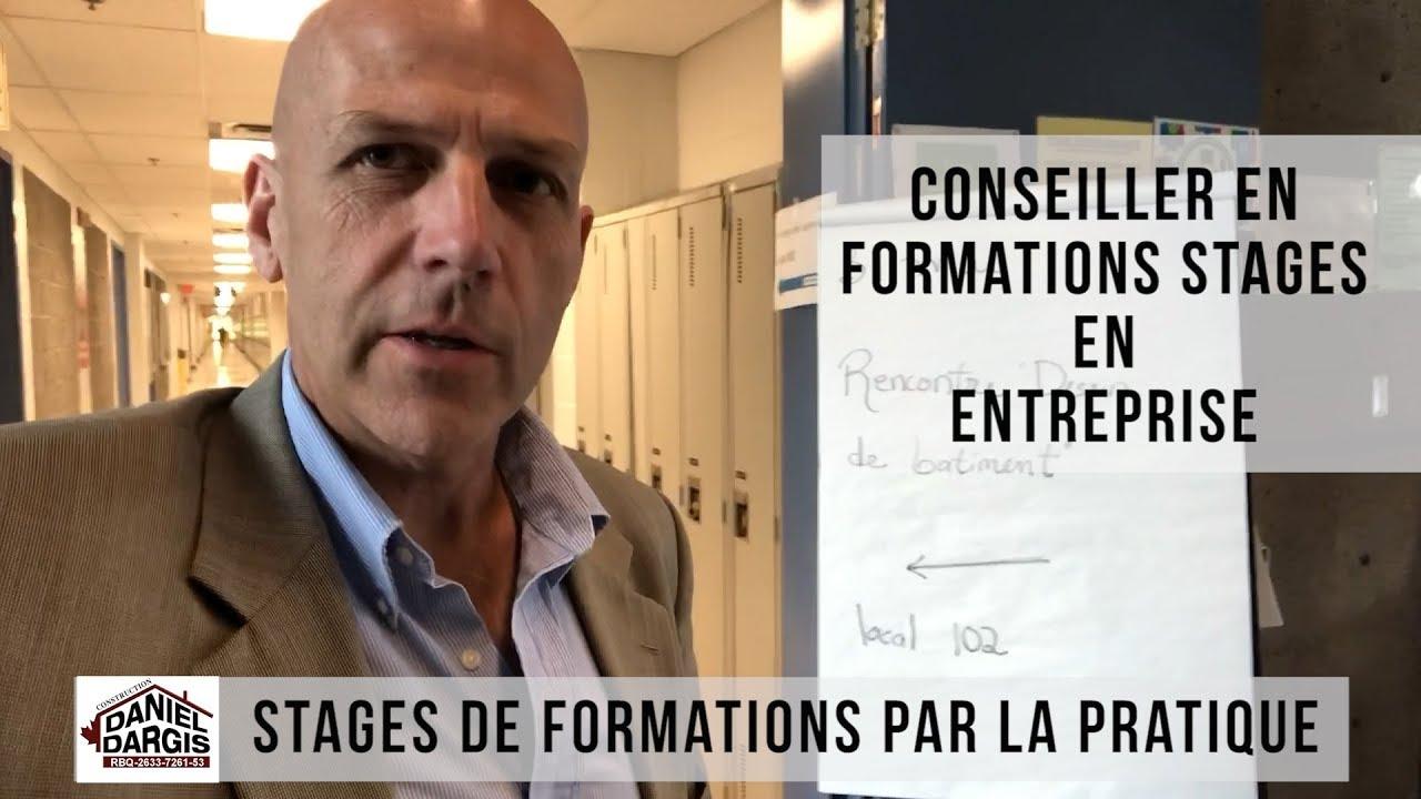 Conseiller en Stages de Formations Pratiques en Entreprise - Daniel Dargis ingénieur
