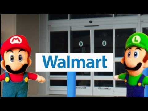 Mario has to go to Walmart