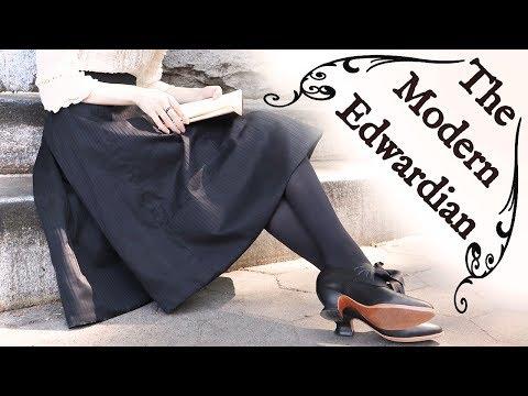 Making A (Modern!) Edwardian Walking Skirt    Historical Style