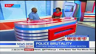Commissioner KNCHR, George Morara on Police accused of brutality