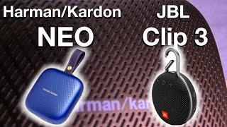 Harman/Kardon NEO vs. JBL CLIP 3 (Sound Test)