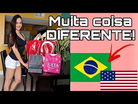 DIFERENÇAS CURIOSAS entre o Brasil e os ESTADOS UNIDOS!