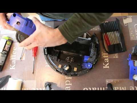 iRobot Roomba 500 / 600 zerlegen und reinigen - Dismantling and clean - Desmontar y limpiar