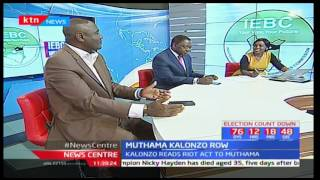 Who's the Ukambani leader between Kalonzo Musyoka and Johnson Muthama? News Centre pt 5