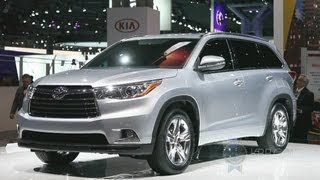 2014 Toyota Highlander -- 2013 New York Auto Show