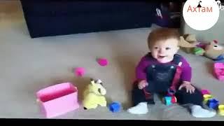 вот что бывает когда ребенка оставил с собакой Наедине