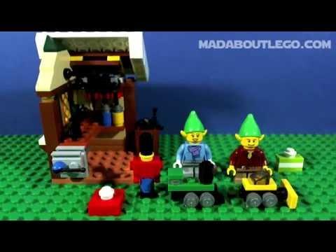Vidéo LEGO Saisonnier 40106 : L'atelier de jouets