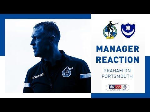 Match Reaction - Graham Coughlan - Portsmouth