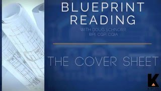 Blueprint Reading (Part 2): THE COVER & ARCHITECTURAL SHEETS