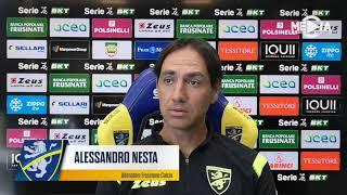 Mister Alessandro Nesta prima di Frosinone-Ascoli