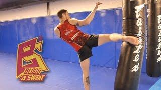Пять технических приемов для наработки сильных ударов ногами. Тайский бокс.