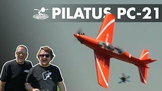 Alex's Longest Knife Edge! FMS Pilatus PC-21 - Video Youtube