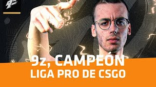 9Z Team, Campeón de la Liga Pro Sur de Counter-Strike: Global Offensive - Player One