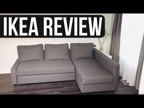 FRIHETEN Corner sofa-bed with storage, Skiftebo dark gray - REVIEW   4 month review
